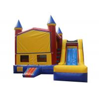 Buy cheap Customized Children Inflatable Bouncer Combo Jump House With Slide Safe Nontoxic from wholesalers