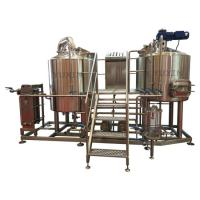 Buy cheap high quality mini beer brewery 400l home beer making machines for making craft beer from wholesalers