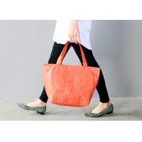 Buy cheap Women ' S Tyvek Travel Tote Bags Water Resistant Light Weight For Shopping product