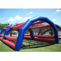 Buy cheap Commercial Grade Inflatable Baseball Batting Cage For Sport Game from Wholesalers