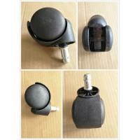 Buy cheap Black Nylon casters for furniture / office chair / sofa , Easy installation from wholesalers