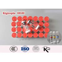 Buy cheap Human Growth Hormone Steroid Bodybuilding Kigtropin 100iu Lyophilized Powder from wholesalers