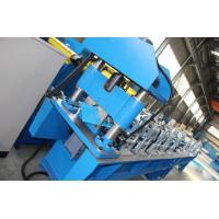 Buy cheap 16 stations Forming Stations 5-10m/min Ridge Cap Roll Forming Machine 4Kw motor from wholesalers