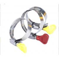 Buy cheap American Standard Screw Perforated Hose Clamp With Plastic Handle from wholesalers