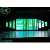 Buy cheap High brightness 512mmx512mm die cast aluminum cabinet  P4 indoor full color LED display 3 years warranty from wholesalers