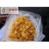 Buy cheap Nutritious Organic Frozen Fruit 100% Yellow Peach Slices / Dices / Smoothie from wholesalers
