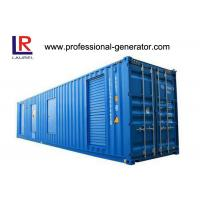 Buy cheap Cummins Engine 800kva Container Genset Industrial Container Mounted Generator product