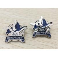 Buy cheap Metal Enamel Lapel Pins No Minimum With Company Logo Or Cartoon Character from wholesalers