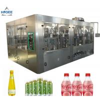 Buy cheap 6 Capping Head Carbonated Soda Filling Machine / Carbonated Drink Bottling Machine from wholesalers