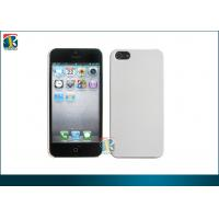 Buy cheap White, Orange Super Gloss Rubberized PC Hard Cover for Iphone 5 Protective Cases from wholesalers