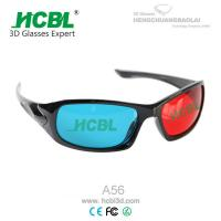 Red and Blue 3D Eyewear Anaglyph 3D Glasses with 1.5 mm Acrylic Filter Lens