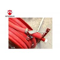 Buy cheap Fire Fighting Fire Extinguisher Hose Reels Painted With Red Powder Coating from wholesalers