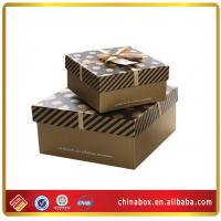 Buy cheap designers christmas gift box decorative packaging with ribbons from wholesalers