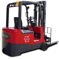 Buy cheap Self Loading 2.5T Sit Down High Capacity 3 Wheel Electric Forklift from wholesalers