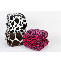Buy cheap Extra Large Thick soft leopard print fleece blanket With Comforter Cover For Baby from wholesalers