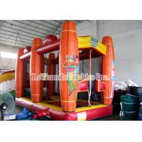 Buy cheap Saloon Inflatable Sport Games , Comfortable Shooting Tent House And Shooter Gun from wholesalers