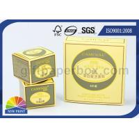 Buy cheap Embossing Paper Luxury Packaging Boxes for Cosmetic Skincare Cream / Mask Product from wholesalers