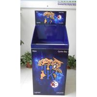 Buy cheap Customized Cardboard Dump Bins with flashing Lights on top header from wholesalers