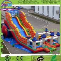Buy cheap Inflatable Bounce House Super Slide Moonwalk Jumper Bouncer Bouncy Jump Castle from wholesalers