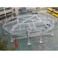 Buy cheap 6082 T6  Aluminum Square Truss Round System School Event Stage from wholesalers
