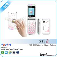 Buy cheap K81 flip mobile phone with spanish keyboard sound and 4 colors quad band mobile phone from wholesalers