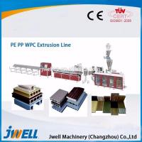 Buy cheap PVC/PP/PE Wood Plastic Sheet/Plate Production Line WPC production line, extruder, plastic machine from wholesalers