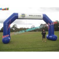 Buy cheap Outdoor Large Advertising inflatable Arch rip-stop nylon material from wholesalers