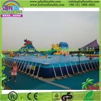Buy cheap Outdoor Intex Metal Frame Playground Swimming Above Ground Pool from wholesalers