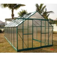 Buy cheap 6mm Twin-wall Small Polycarbonate Greenhouse Come with 2 Vents 8' X 16' RE0816 from wholesalers