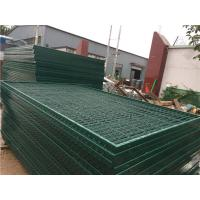 Buy cheap Corrosion Resistance Mesh Wire Cross Square Pipe Frame Mountain Forest Fence from wholesalers