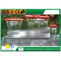 Buy cheap Garden Water Fountain Equipment Waterfall Blade With Remote Controller 1500mm Length from wholesalers