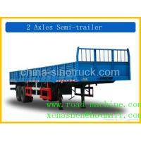 Buy cheap SINOTRUCK 2 AXLE LORRY TRAILER from wholesalers