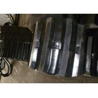 Buy cheap Black Color Excavator Rubber Tracks 320mm Width With High Running Speed from wholesalers