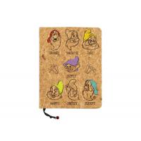 Buy cheap Wood Cover Custom Refillable Notebook With Photo On Front Multi Texture from wholesalers