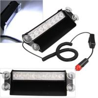 Buy cheap 8Watt LED Vehicle Work With Remote Control & Car Cigarette Lighter / LED Emergency Strobe Lights from wholesalers