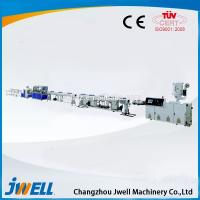 Buy cheap Jwell Common Diameter HDPE Pipe/PP Chemical Usage Pipe Screw Extruder from wholesalers