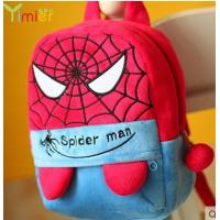 Buy cheap popular canvas backpack spider man from wholesalers