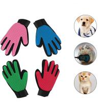 Buy cheap Relaxing Massage Cat Grooming Glove For Dogs Wool Glove Pet Hair Deshedding Comb from wholesalers