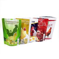 Buy cheap Moisture Proof Plastic Pouches Packaging Food Plastic Bag Zipper Top Customized Color from wholesalers
