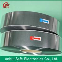 Buy cheap 3~12um Aluminum Zinc alloy mpp film with heavy edge for capacitor use product