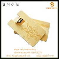Buy cheap Wooden usb card flash drive 2.0,credit card usb,usb business card,optional package from wholesalers