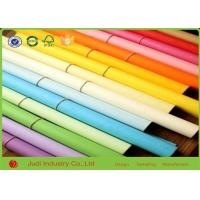 Buy cheap Creative Hobbies Rainbow Solid Color Wrapping Paper , 21 Gsm Holiday Wrapping Paper from wholesalers