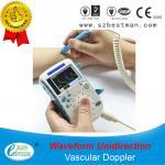 Buy cheap handheld vascular doppler, blood flow detector BV-520T from wholesalers