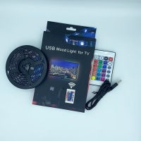 Buy cheap hot sale china12v 5m smd5050 waterproof ip65 rgb led strip lights with remote controller from wholesalers