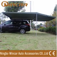 Buy cheap Canvas Tent Trailer Awning Waterproof with Rectangle Triangle from wholesalers