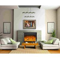 Buy cheap Home Bedroom Decoration Plug In Wall Fireplace Heater With Remote / Led Light from wholesalers