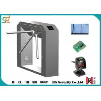 Buy cheap RFID Turnstile Security Systems, Barcode Reader Tripod Turnstiles Gate from wholesalers