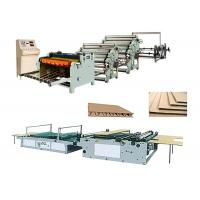 Buy cheap Single Face Carton Corrugated Box Manufacturing Machine Low Electric Consumption from wholesalers