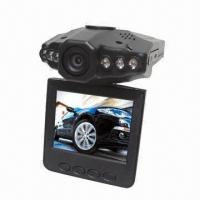 Buy cheap 2.5-inch LCD, 270° Vehicle Camera, Digital Video Recorder /HD Car DVR product