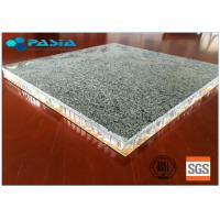 Buy cheap Granite Stone Aluminium Honeycomb Panel With Edge Open For Indoor Decoration from wholesalers